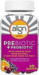 60-Count Align Prebiotic + Probiotic Supplement Gummies $12