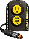Stanley FatMax 140W Power Inverter with USB $13.77 (orig. $25)