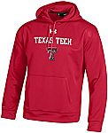 Under Armour Men's NCAA Texas Tech Red Raiders Fleece Hoodie $7.80 and More