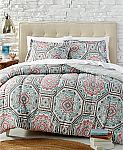 2-Piece Reversible Twin Comforter Set (Various) 2 for $26 and More