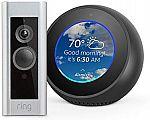 Amazon Echo Spot + Ring Video Doorbell Pro $278