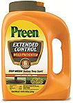 Preen Extended Control Weed Preventer (4.93 lb, Covers 805 sq. ft.) $14