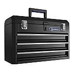 Kobalt Portable 20.67-in 3-Drawer Steel Lockable Tool Box $30 and more