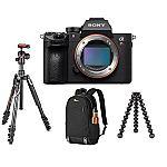 Sony a7R III Camera + Joby GorillaPod + Manfrotto Befree Tripod & Head + Lowepro Backpack $2998