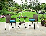 Better Homes and Gardens Fairfield Bay 3-Piece Balcony Bistro Set $139 (orig. $250) and more
