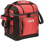 Coleman 30-Can Soft Cooler with Hard Liner $15.95 (Org $26)