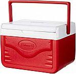 Coleman FlipLid Personal Cooler, 5 Quarts $8