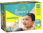 Buy two Pampers Cruisers Get $15 Amazon gift card, or Two Swaddlers w/ $20 gift card