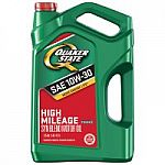5-Quart Quaker State Motor Oil (Various) + $5 Walmart eGift Card for $14 (After Online Rebate)