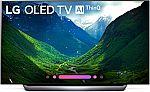 LG OLED65C8PUA 65-Inch 4K Ultra HD Smart OLED TV (2018 Model) $2000 (Open-Box)