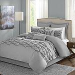 10-Piece Home Essence Sunita Cotton Faced Comforter Set (king) $27.50 and more
