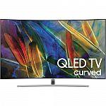 "Samsung Q7C or Q7F-Series 55"" HDR UHD Smart QLED TV $999"