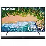 "SAMSUNG 65"" 4K UHD Smart LED TV UN65NU7200FXZA with Samsung Soundbar System HW-M360 $978"