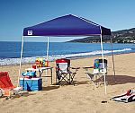 Z-Shade 10' x 10' Instant Canopy (Blue) $36