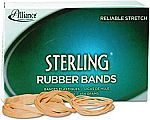 Alliance Sterling Rubber Bands (Assorted Sizes, 1200-Count) $2.05