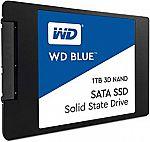 "WD Blue 3D NAND 1TB PC SSD SATA III 6 Gb/s (2.5""/7mm or M.2 2280) $199.99"