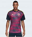 Adidas Men's Soccer Colombia Home Pre-Match Jersey $24 and more