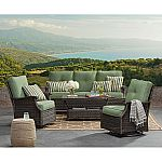 Member's Mark Agio Stockton Seating Set (Sea Glass) $899