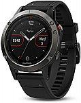 Garmin fenix 5 Watch $365, Fenix 5X Sapphire GPS Watch $430