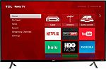 """(Today Only) Save 10-22% Off Select TCL Smart TV's: TCL 43"""" 4K UHD TV with HDR Roku TV (43S405) $252 and more"""