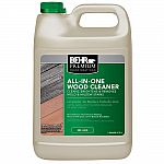 BEHR Premium 1-gal. All-In-One Wood Cleaner Or Solid Color Oil-Latex Exterior Wood Stain Free After $10 Rebate