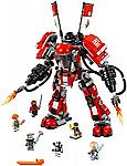 LEGO Ninjago Movie Fire Mech 70615 Building Kit (944 Piece) $49 (or $37 via Google Express)
