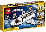 LEGO Creator Space Shuttle Explorer 31066 Building Kit (285 Piece) $21 (30% Off)