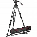 Manfrotto Nitrotech N8 Video Head & 546GB Pro Tripod with Ground-Level Spreader $549 (Save $400)
