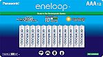 12-Pk Panasonic Eneloop AAA 2100 Ni-MH Rechargeable Batteries $17.45 (Prime Only)