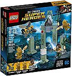 LEGO Super Heroes 76085 Battle of Atlantis (197 Piece) $12 (40% Off) and more