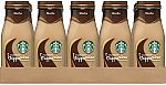 15-Count Starbucks Frappuccino Drinks, Mocha Flavor, 9.5 Ounce Glass Bottles $15