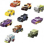 Disney Pixar Cars Micro Racers #1 Vehicle, 10 Pack $11.89
