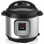 Instant Pot DUO60 6-Quart 7-In-1 Programmable Pressure Cooker $75 or Less with Target RedCard