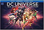 DC Universe 10th Anniversary Collection, 30-Movies Blu-ray $99.99