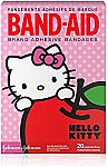 3-pack 20-count Band-Aid Brand Adhesive Bandages for Minor Cuts, Hello Kitty Characters (60-ct in total) $5.83