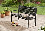 Mainstays Steel Bench $40 (50% Off) + Free Shipping and More