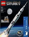 LEGO - Ideas NASA Apollo Saturn V + $30 Best Buy GC for $120