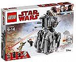 LEGO Star Wars Episode VIII First Order Heavy Scout Walker 75177 Building Kit (554 Piece) $30 (Org $50) & More Lego Set 40% Off