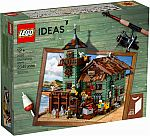 LEGO Ideas Old Fishing Store Building Set $149.99 + Get $30 Best Buy Gift Card