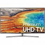 "55"" Samsung UN55MU9000 4K Ultra HD Smart LED TV $769, 65"" Samsung QN65Q7F  4K QLED TV $1349 and more"