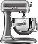 KitchenAid KL26M1XSL Professional 6-Qt. Bowl-Lift Stand Mixer $219 (Today only)
