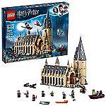 LEGO Harry Potter Hogwarts Great Hall Building Kit (878 Piece) $91 (reg $100)