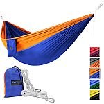 Yes4All Single Lightweight Camping Hammock with Carry Bag $8