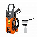 Armor All 1,600psi Electric Pressure Washer with Bonus Brush and Foamer $50