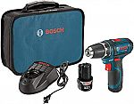 Bosch 12-Volt Max 3/8-Inch 2-Speed Drill/Driver Kit $79
