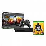 Microsoft Xbox One X 1TB PUBG Console Bundle + Madden NFL 19 $425 and more