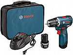 Bosch 12-Volt Max Brushless 3/8-Inch Drill/Driver Kit PS32-02 $85 (Org $145)