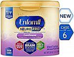 Enfamil NeuroPro Gentlease Infant Formula 20 oz (Pack of 6) $94
