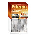 3-Pack 3M Filtrete Allergen Defense 800 MPR HVAC Furnace Filters (Various sizes) $15.88 + pickup