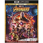 Avengers: Infinity War (Cinematic Universe Edition) (4K Ultra HD + Blu-ray + Digital Code) $25